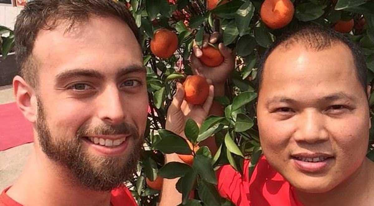 Jovem seguiu seu iPhone roubado até o outro lado do mundo e encontrou um amigo para toda a vida