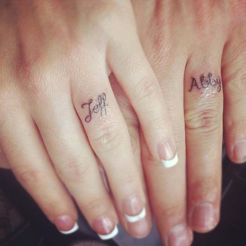 As melhores tatuagens de aliança de casamento 07