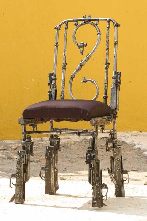 Armas motivando a paz