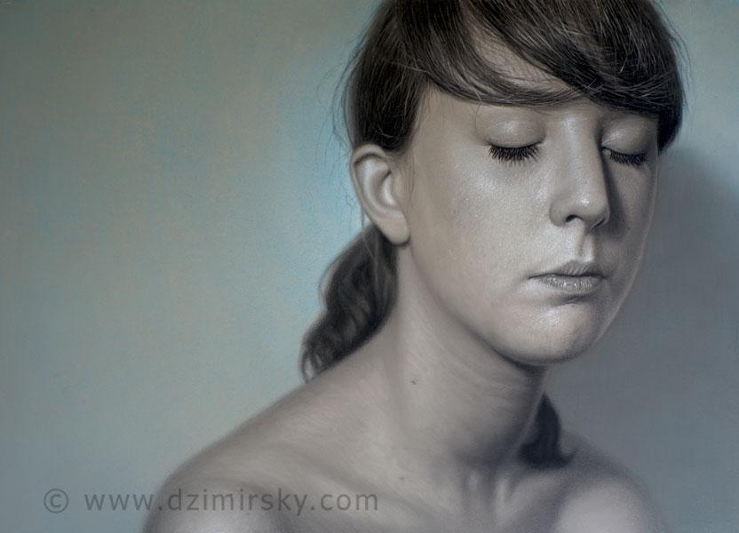 Incr�veis desenhos realistas de faces humanas 12