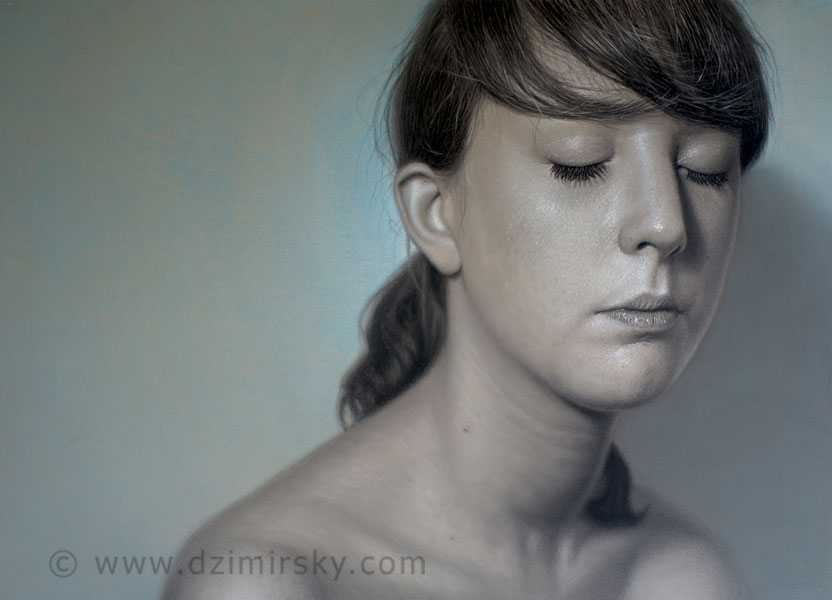 Incríveis desenhos realistas de faces humanas 12