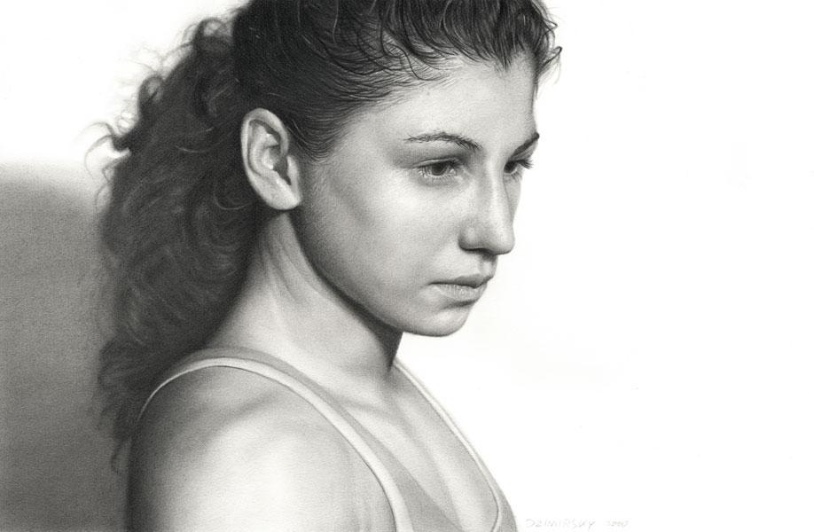Incríveis desenhos realistas de faces humanas 13