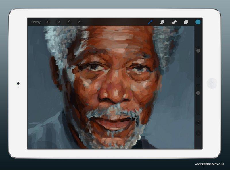 Esta imagem de Morgan Freeman não é o que parece 03