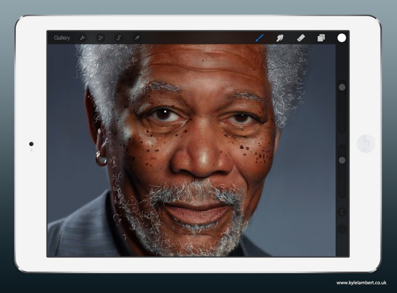 Esta imagem de Morgan Freeman não é o que parece 05