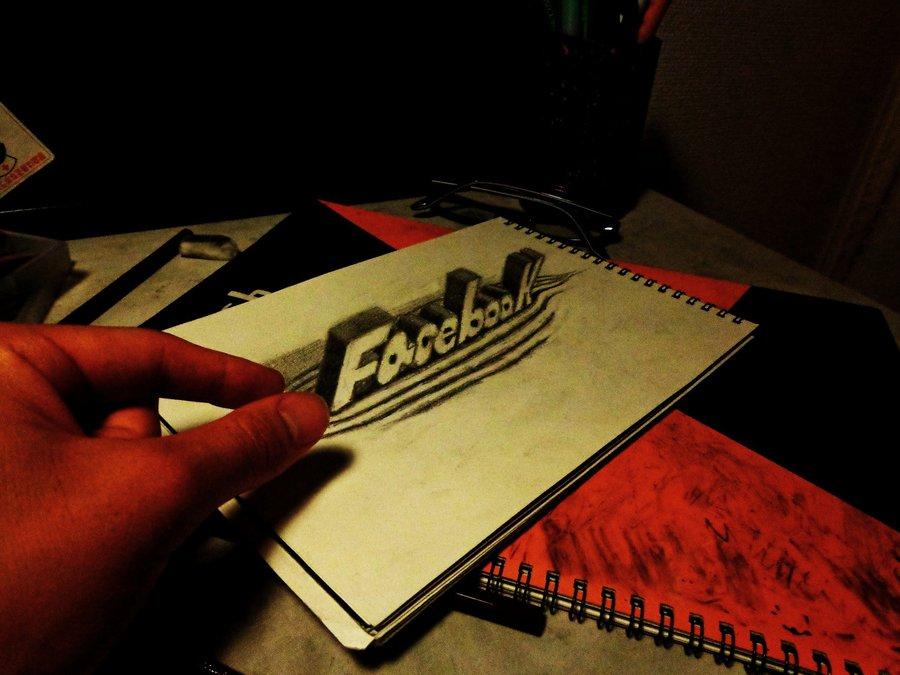 Intrincados e alucinantes desenhos a lápis em 3D 10