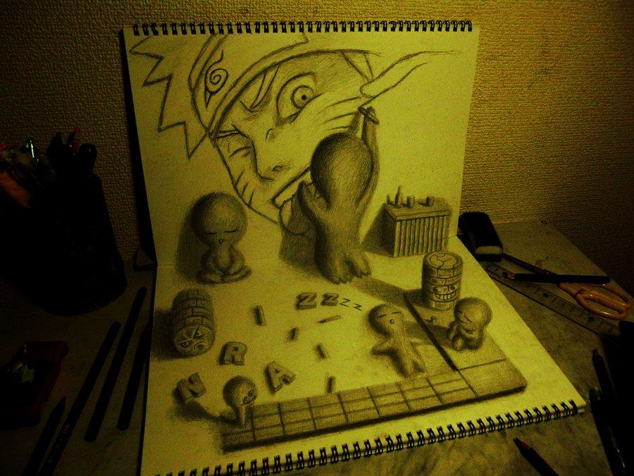 Intrincados e alucinantes desenhos a lápis em 3D 21