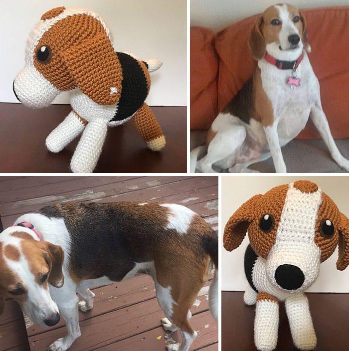 Artista cria adoráveis versões de crochê de cães de estimação 05