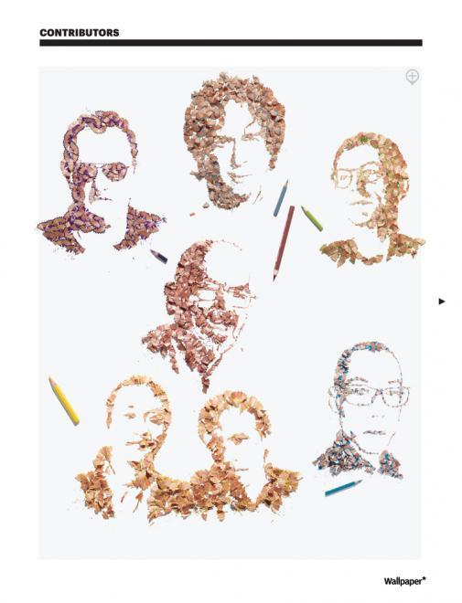 A arte feita com aparas de lápis de Kyle Bean 05