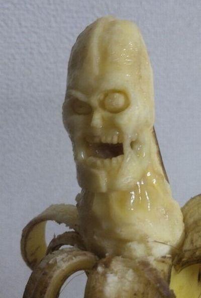 Esculturas em banana 01