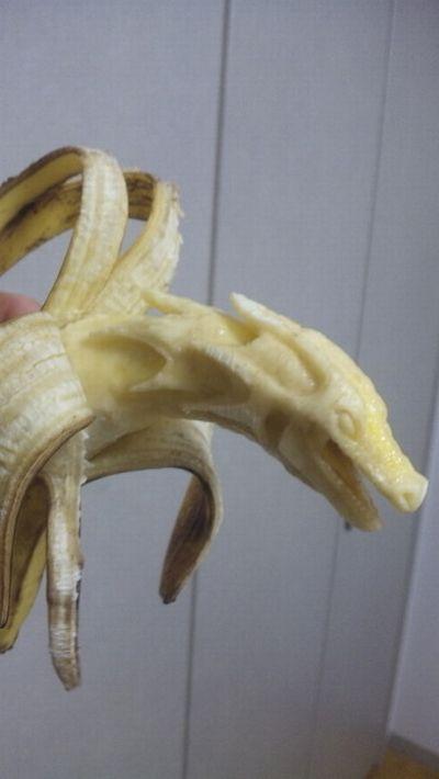 Esculturas em banana 03