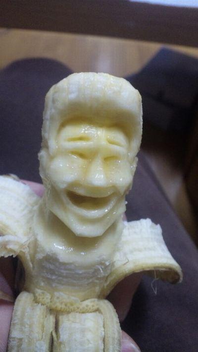 Esculturas em banana 08