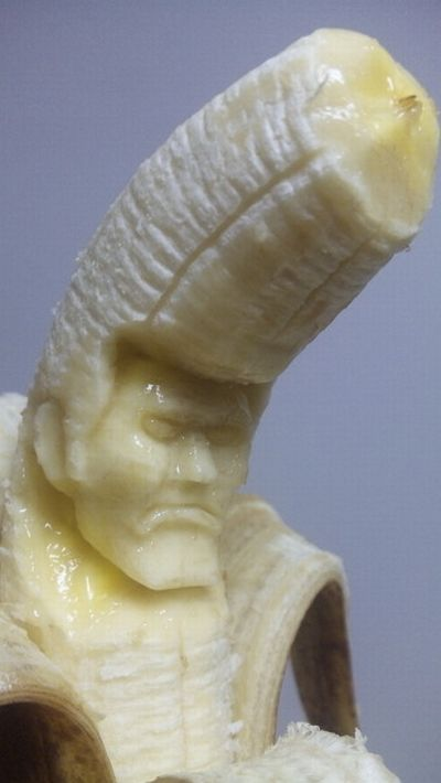 Esculturas em banana 09