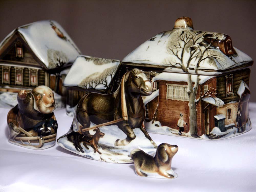 A arte barroca em porcelana de Andrei Cherkasov 01