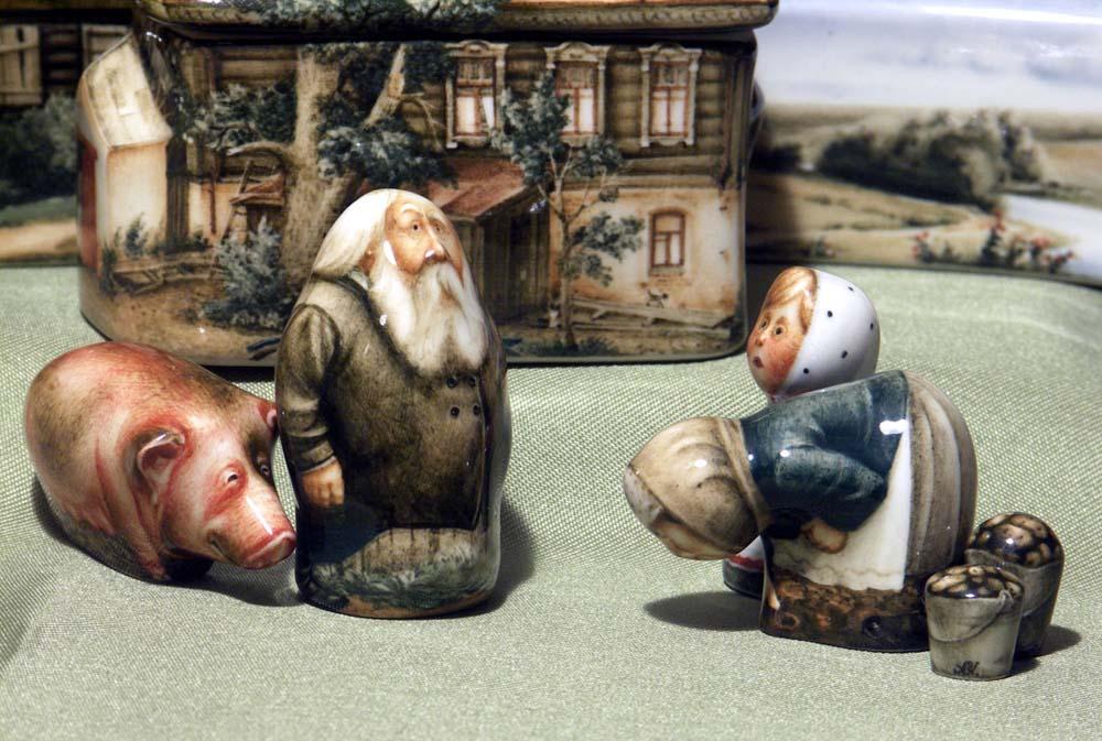A arte barroca em porcelana de Andrei Cherkasov 04