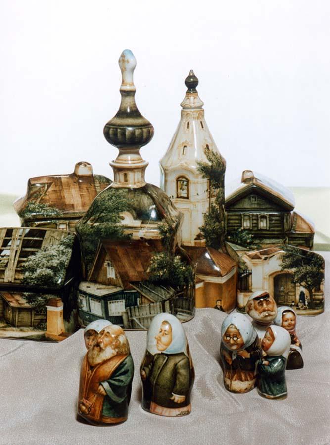A arte barroca em porcelana de Andrei Cherkasov 07