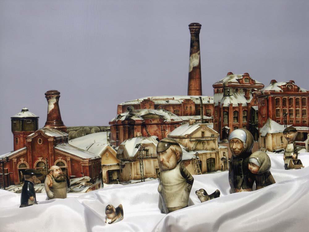 A arte barroca em porcelana de Andrei Cherkasov 09