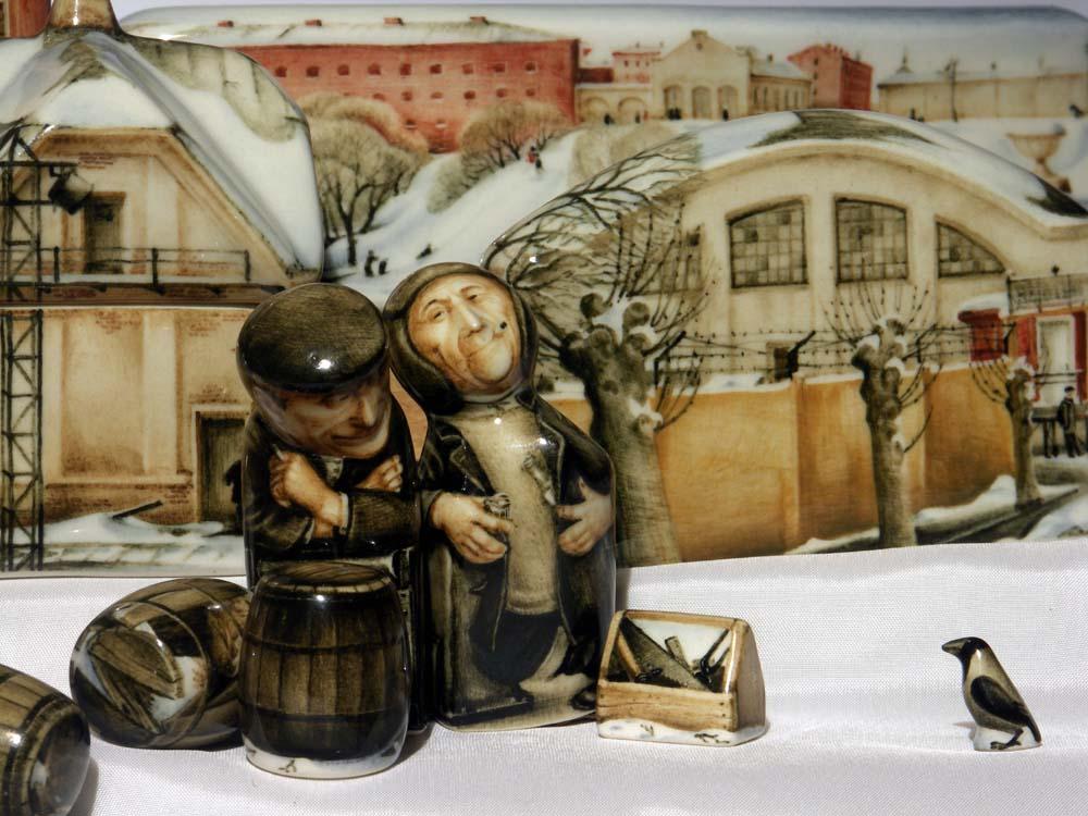 A arte barroca em porcelana de Andrei Cherkasov 10