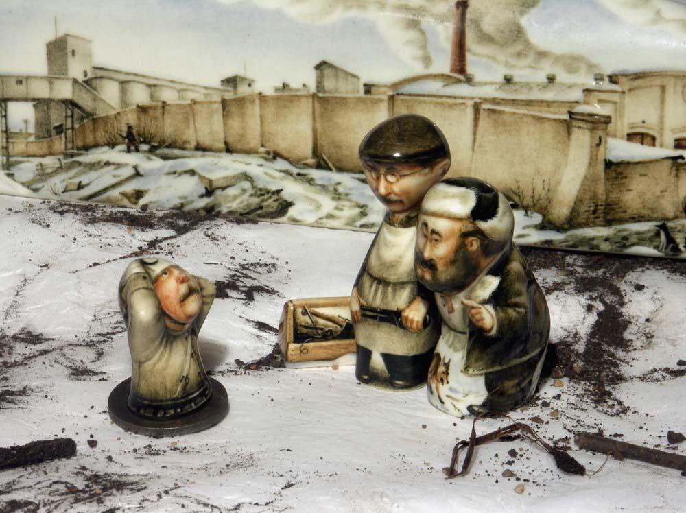 A arte barroca em porcelana de Andrei Cherkasov 11