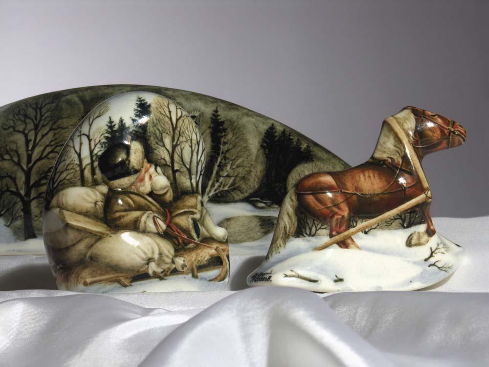 A arte barroca em porcelana de Andrei Cherkasov 12