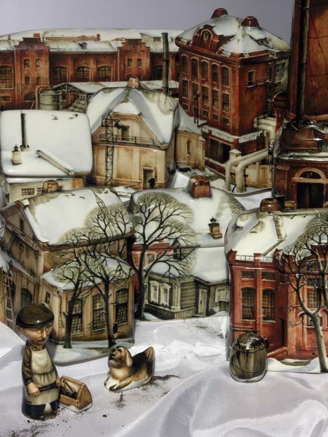 A arte barroca em porcelana de Andrei Cherkasov 13