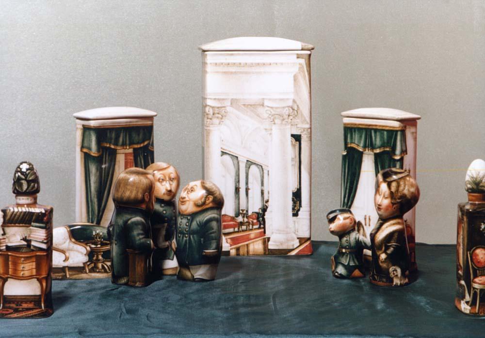 A arte barroca em porcelana de Andrei Cherkasov 16