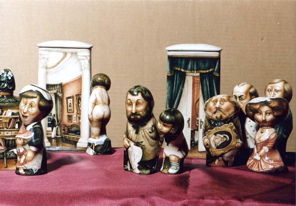 A arte barroca em porcelana de Andrei Cherkasov 17
