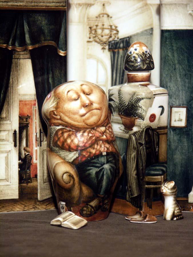 A arte barroca em porcelana de Andrei Cherkasov 19