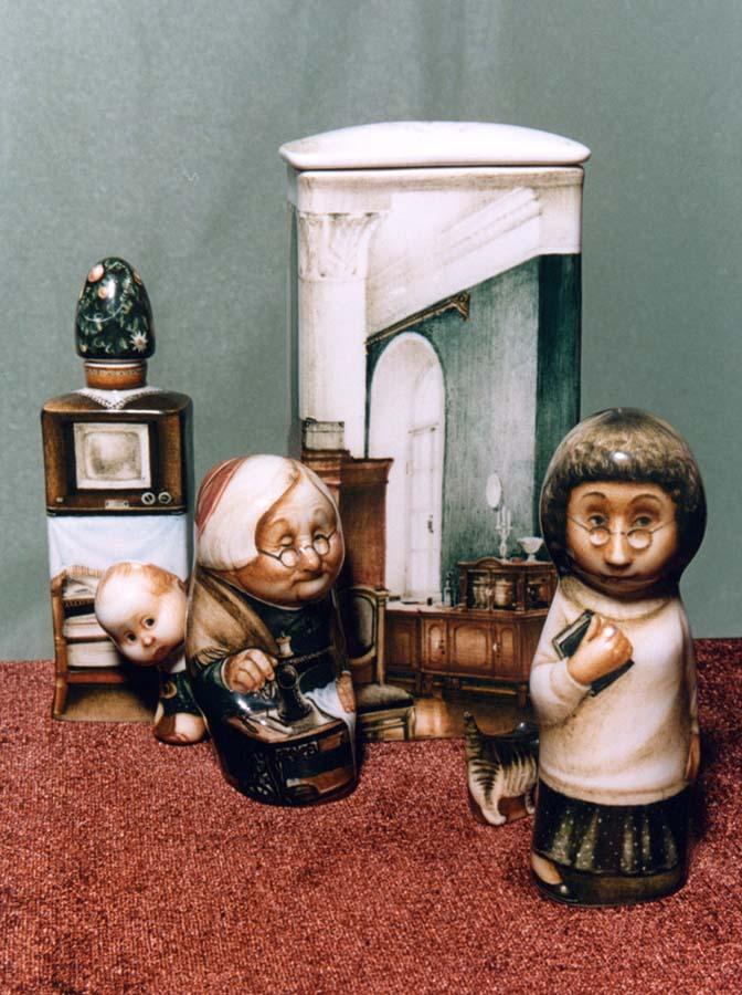 A arte barroca em porcelana de Andrei Cherkasov 20