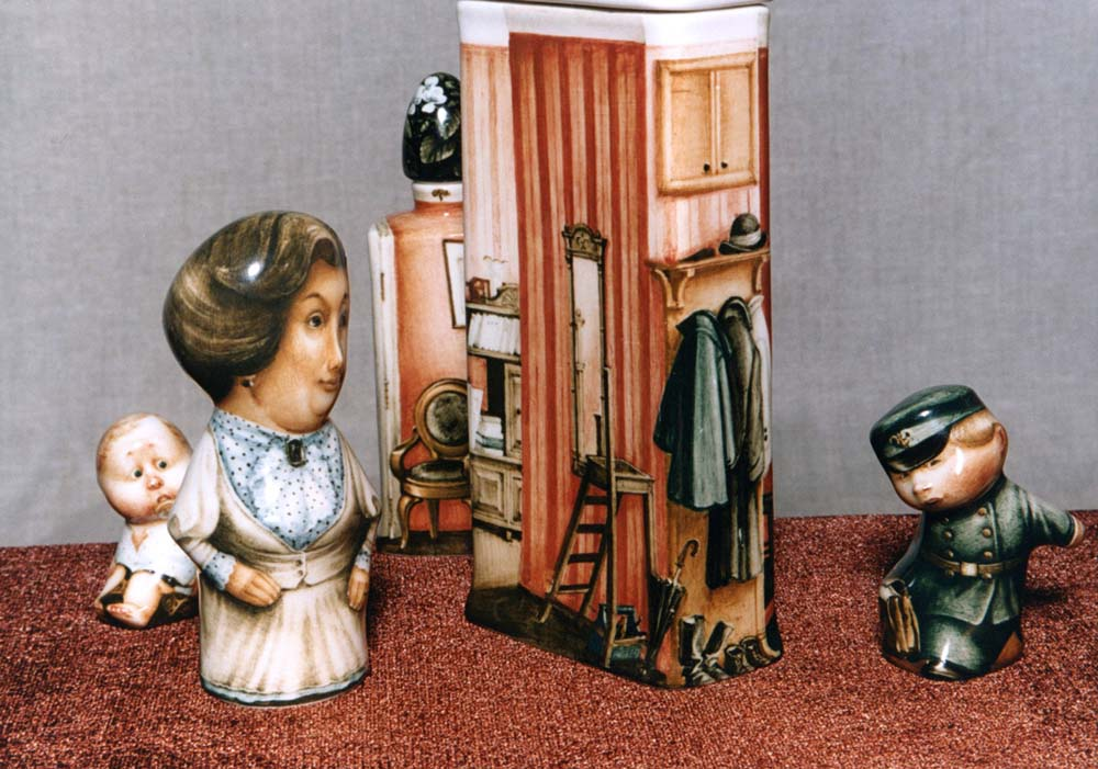 A arte barroca em porcelana de Andrei Cherkasov 21