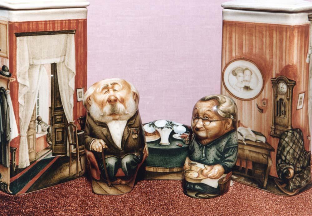 A arte barroca em porcelana de Andrei Cherkasov 22