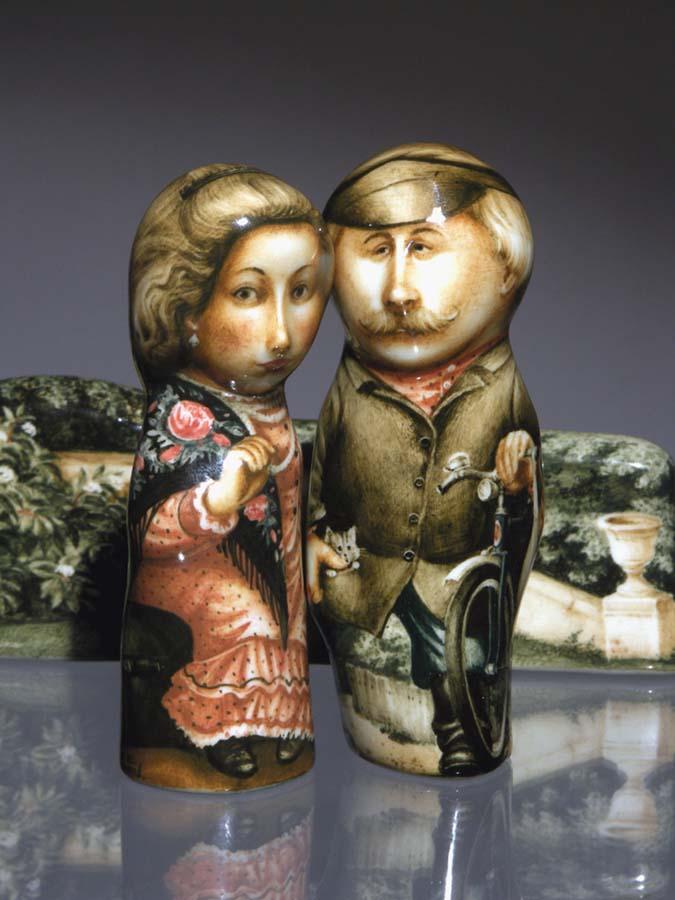 A arte barroca em porcelana de Andrei Cherkasov 25