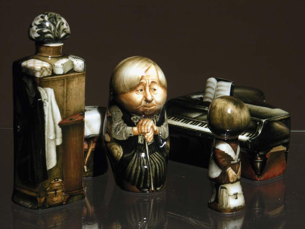 A arte barroca em porcelana de Andrei Cherkasov 28