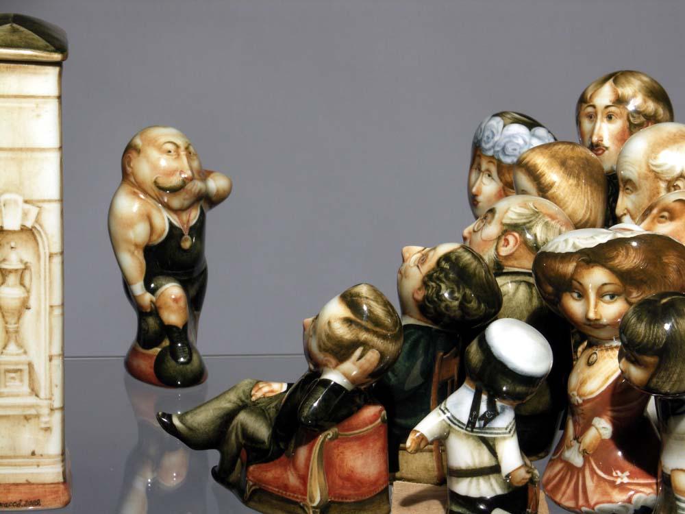 A arte barroca em porcelana de Andrei Cherkasov 30