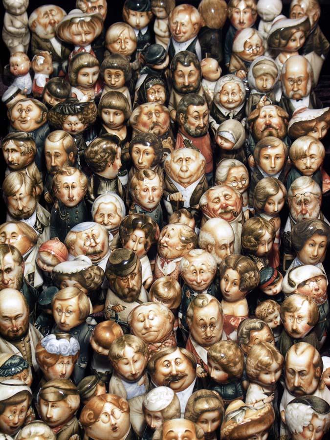 A arte barroca em porcelana de Andrei Cherkasov 32
