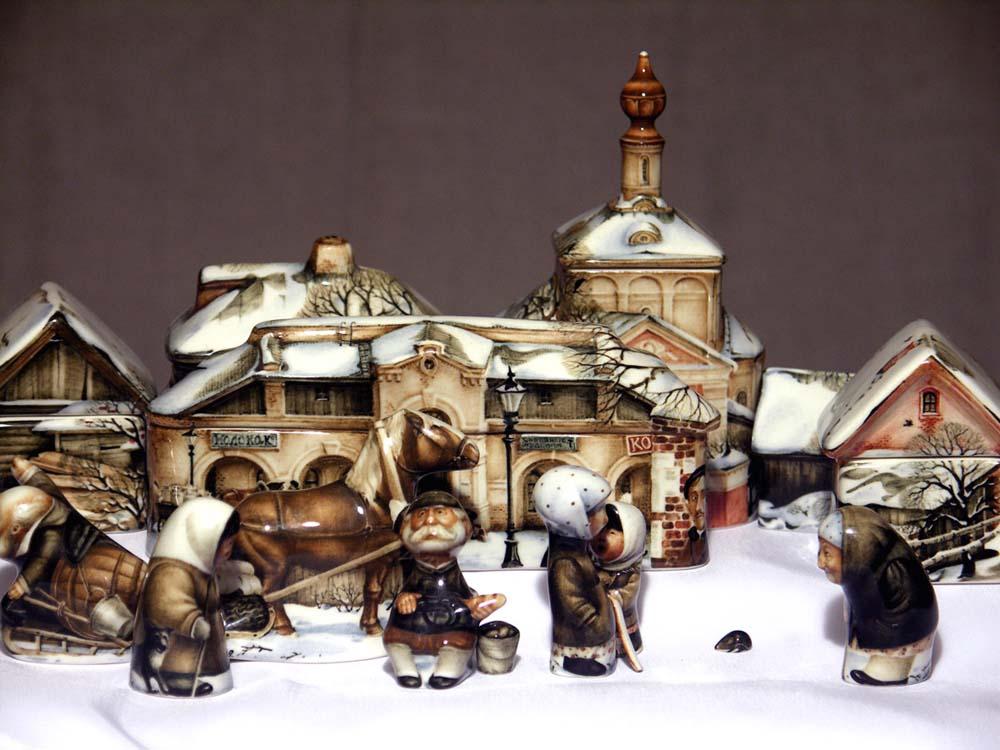 A arte barroca em porcelana de Andrei Cherkasov 33