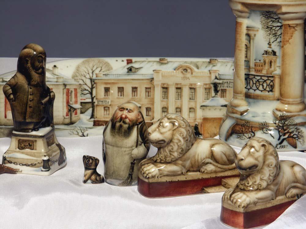 A arte barroca em porcelana de Andrei Cherkasov 37