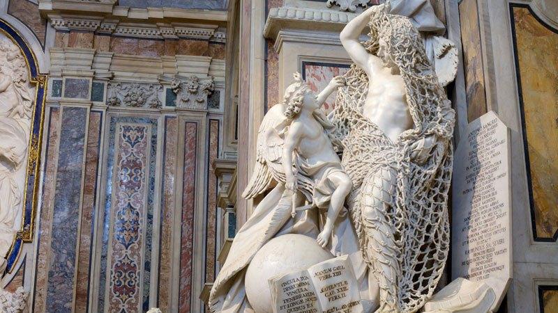 Esta pequena capela é o lar de algumas das maiores esculturas de mármore da história 13