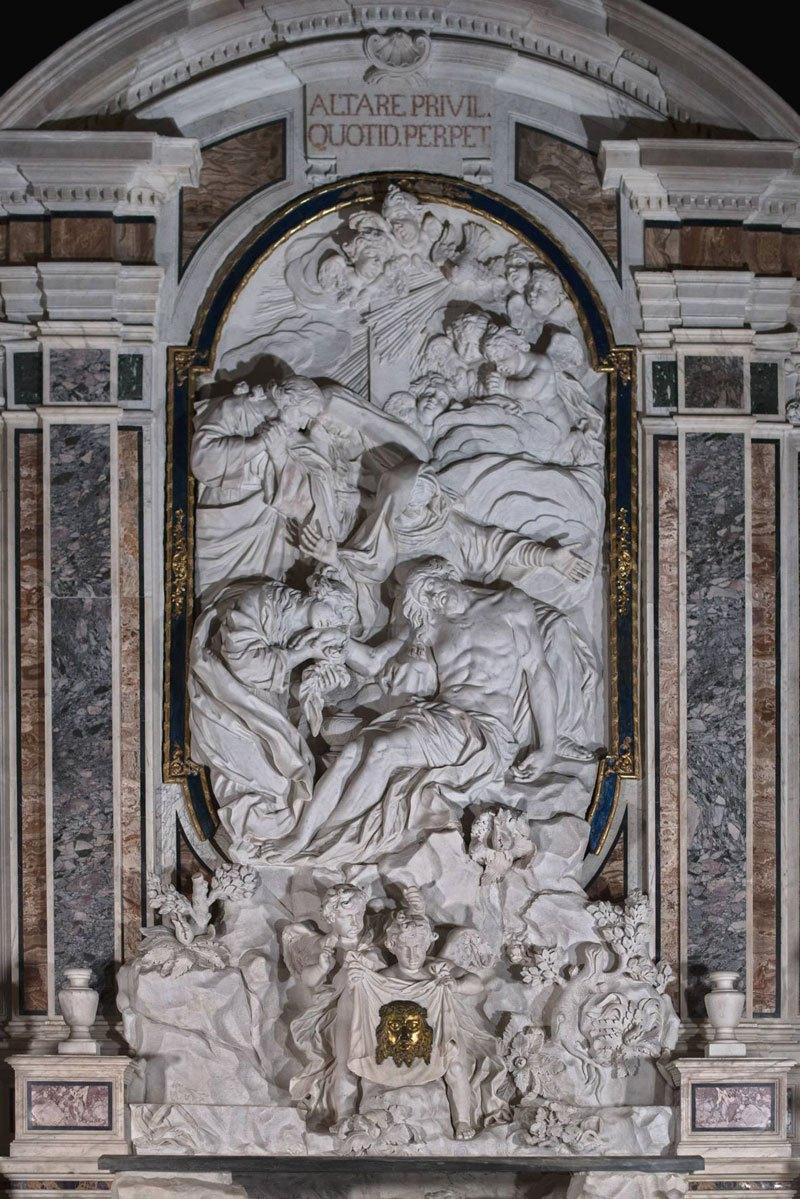 Esta pequena capela é o lar de algumas das maiores esculturas de mármore da história 23