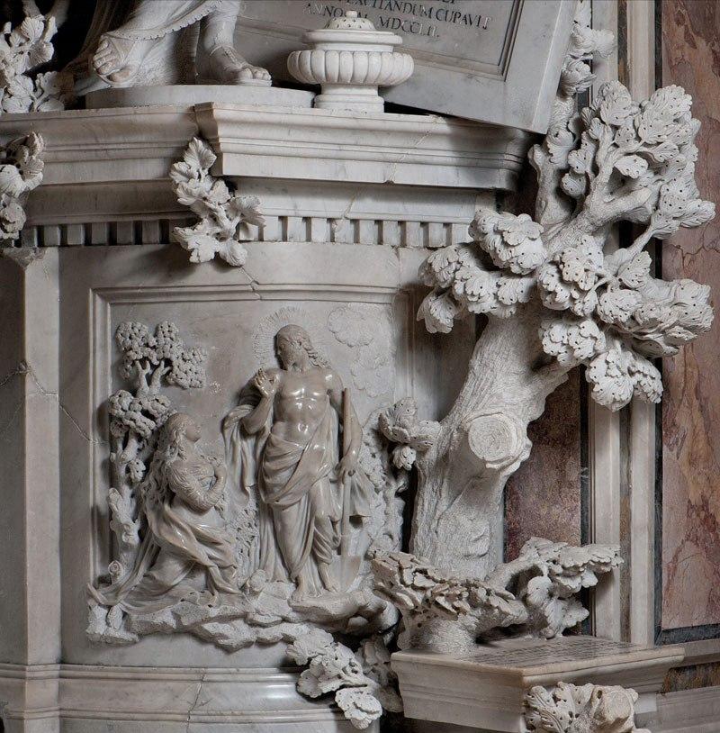 Esta pequena capela é o lar de algumas das maiores esculturas de mármore da história 28
