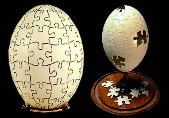 Incrível arte na casca de ovo de Gary LeMaster 01