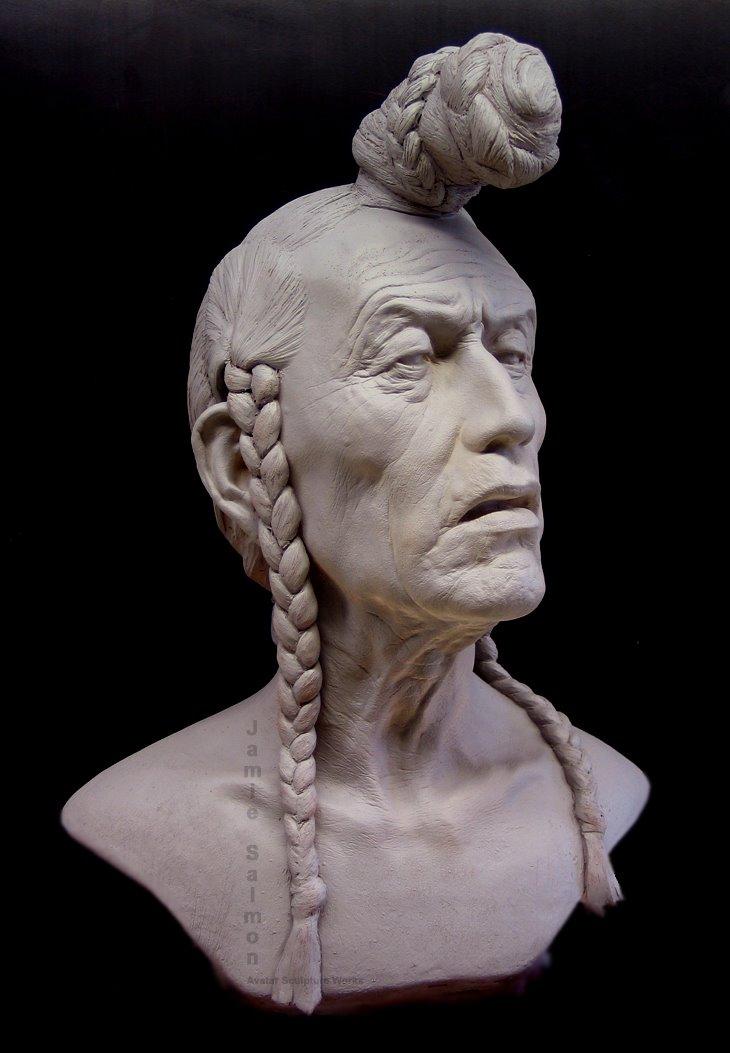 As esculturas incrivelmente hiper-realistas de Jamie Salmon 15