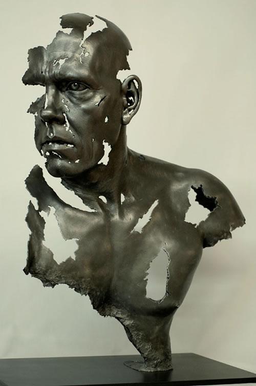 As esculturas incrivelmente hiper-realistas de Jamie Salmon 18