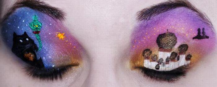 A arte da maquiagem 08