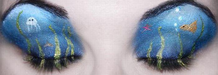 A arte da maquiagem 10