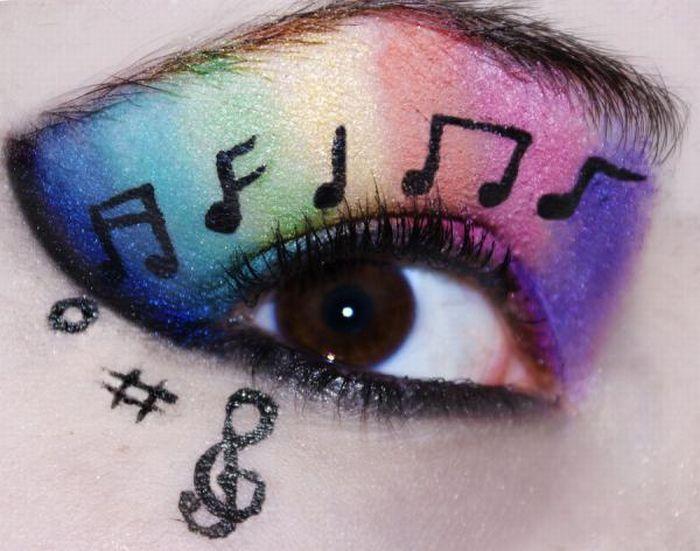 A arte da maquiagem 11