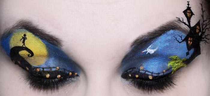 A arte da maquiagem 12