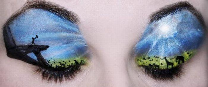 A arte da maquiagem 14