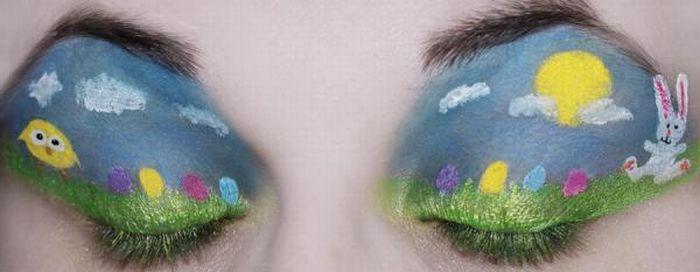 A arte da maquiagem 16