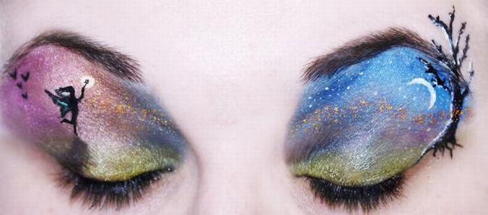 A arte da maquiagem 17