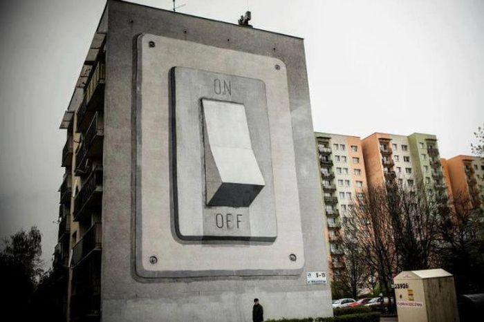 50 exemplos bacanas de arte de rua 01